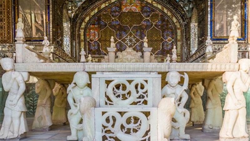 گزارش تصویری از کاخ گلستان