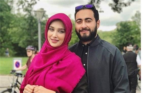 متن عاشقانه پسر سفیر برای  آناشید حسینی: اگر دلت را شکستم حلالم کن!
