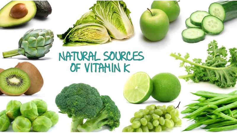 ویتامین k  چیست و در چه غذاهایی وجود دارد و چه کارکردی برای بدن دارد