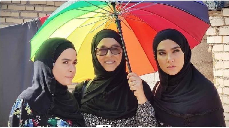 ملیکا شریفی نیا عکسهای دیده نشده ای از سریال نجلا منتشر کرد