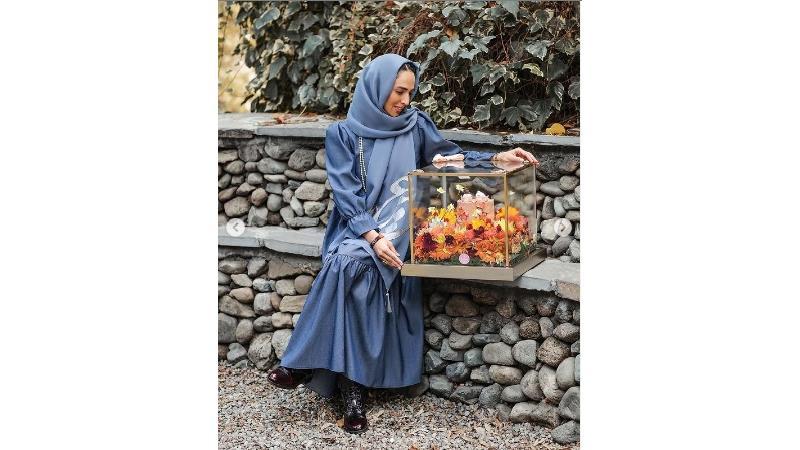 عاشقانه سوگل طهماسبی برای همسرش در سالگرد ازدواجشان+عکس