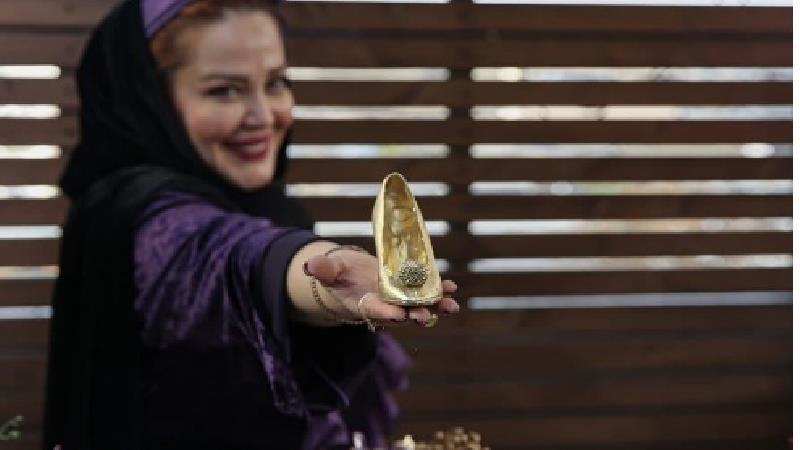 فیلم و عکس از تولد لاکچری بهاره رهنما با کفش سیندرلا
