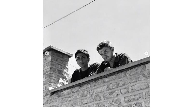 عکس های جذابی که کیسان دیباج از هاشم و سهراب در از سرنوشت منتشر کرد
