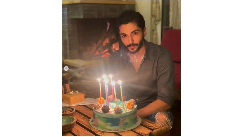 جشن تولد کیسان دیباج در کنار دارا حیایی+ عکس و فیلم