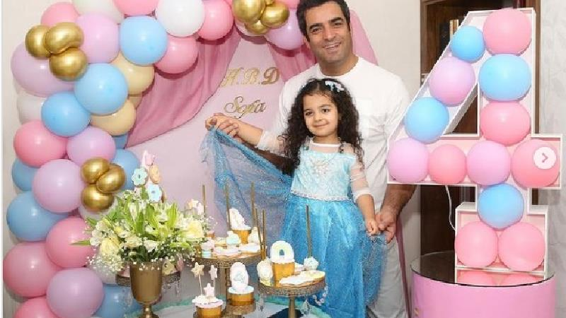 عکسهای جشن تولد لاکچری دختر یکتا ناصر