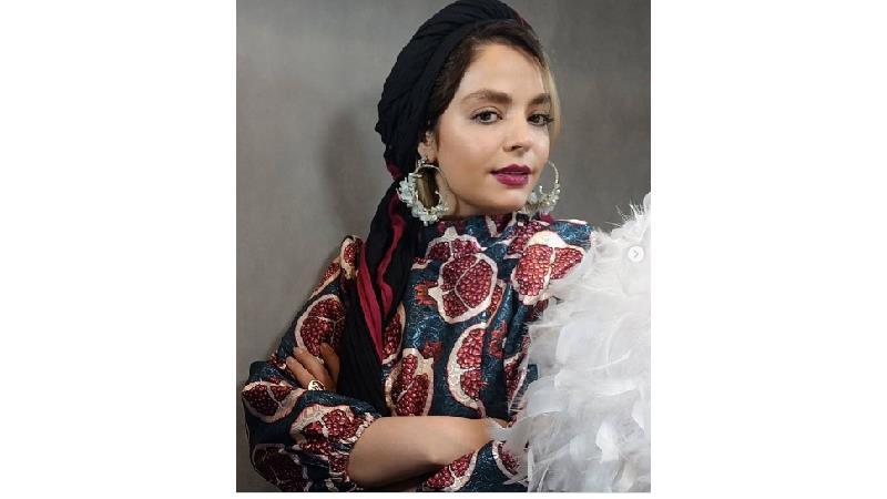 تیپ یلدایی سپیده خداوردی بازیگر نقش نرگس در سریال خانه امن