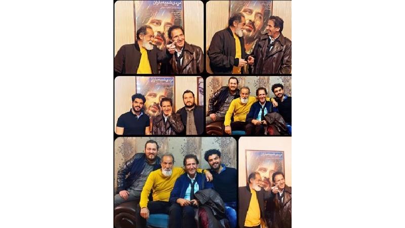 عکس های خاص و دیده نشده ای سینا مهراد در کنار ابوالفضل پور عرب