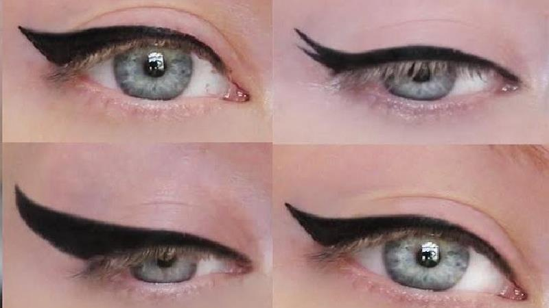 ترفندهای مختلف برای کشیدن خط چشم با توجه به حالت چشم