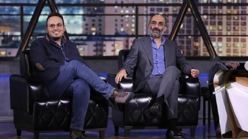 عکسهای دیده نشده ای از برنامه هم رفیق با حضور هادی حجازی فر و محمد حسین مهدویان