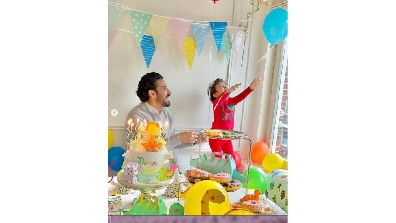 تولد لاکچری پسر رضا قوچان نژاد و واکنش ساره بیات