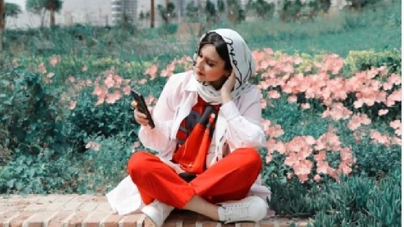 جدیدترین عکس های نازنین هاشمی بازیگر نقش شکیبا در سریال احضار