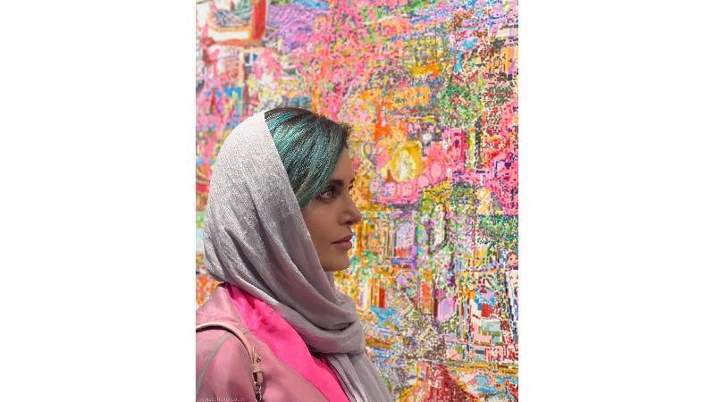 تحسین الناز شاکر دوست توسط مدل معروف آمریکایی و کامنت جالب او