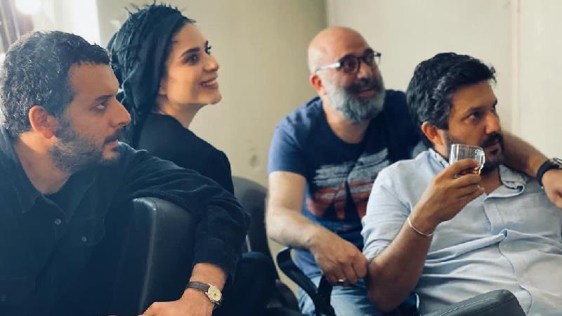 عکس های پشت صحنه سریال می خواهم زنده بمانم و دلنوشته سحر دولتشاهی