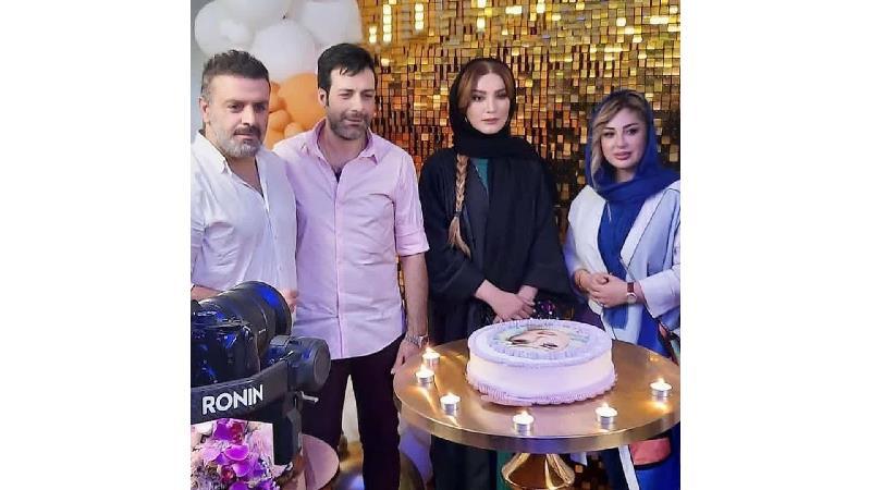 جشن تولد متفاوت نیوشا ضیغمی با حضور بازیگران