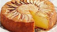 طرز تهیه کیک سیب خانگی با دارچین و گردو و هل