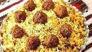 طرز تهیه قنبرپلو به سبک رستورانهای شیرازی