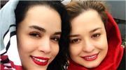 عکس جذاب و دیدنی از ملیکا و مهراوه شریفی نیا