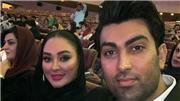 نظر مهران مدیری  درباره  همسر الهام حمیدی