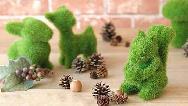 سبزه عید به شکل گاو را چطور درست کنیم