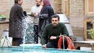 واکنش عجیب محمدرضا رهبری در پشت صحنه دیدنی بچه مهندس 4