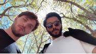 عکس جدید کیسان دیباج و دارا حیایی در خانه مجلل