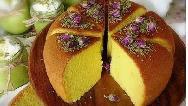 طرز تهیه کیک گل سرخ بسیار خوشمزه و مجلسی + فیلم