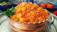 فوت و فن پخت دمی گوجه با مرغ و آب گوشت