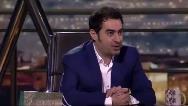 شوخی خنده دار شهاب حسینی با دوست اجتماعی نوجوان تماشاچی