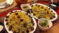 طرز تهیه کلم پلو شیرازی اصل  بسیار خوشمزه و مجلسی