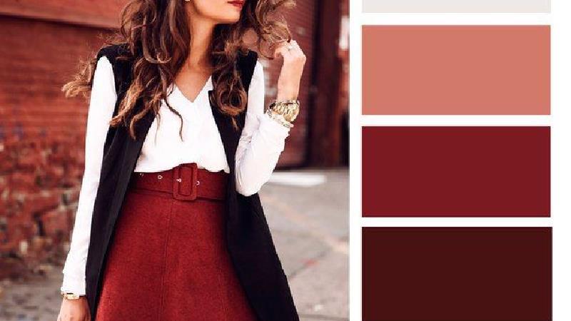ست لباس قرمز
