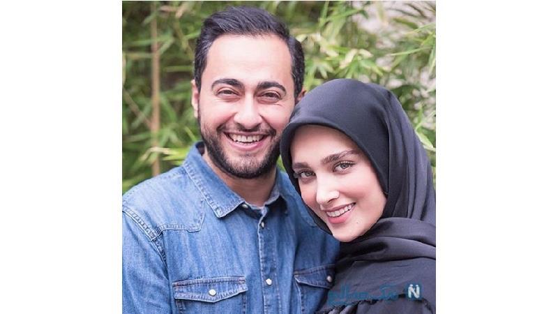 آناشید حسینی و همسر سابقش
