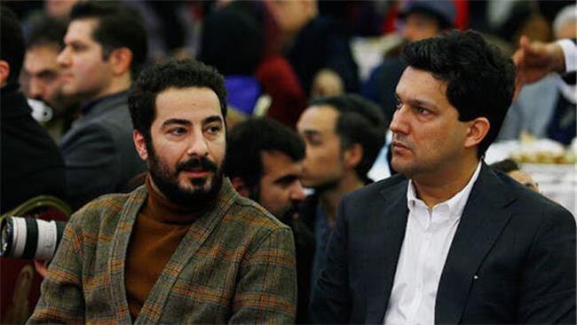 حامد بهداد و محمدرضا گلزار