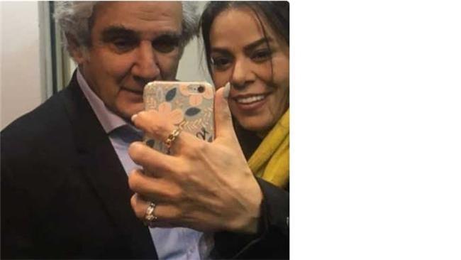مهدی هاشمی و همسر دومش