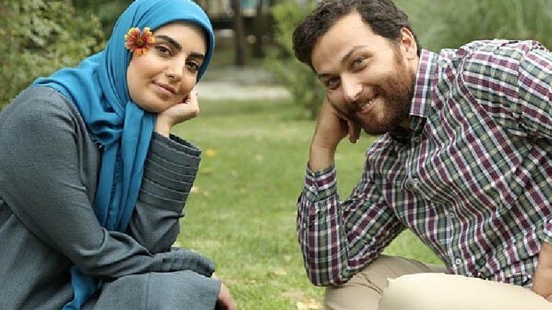میلاد میرزایی و مهشید جوادی در سریال بیگانه ای با من است