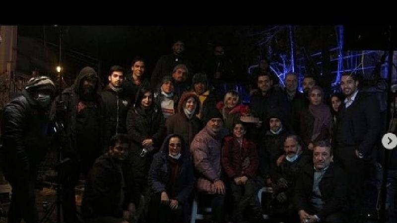 جشن تولد محمدرضا رهبری در پشت صحنه بچه مهندس 4
