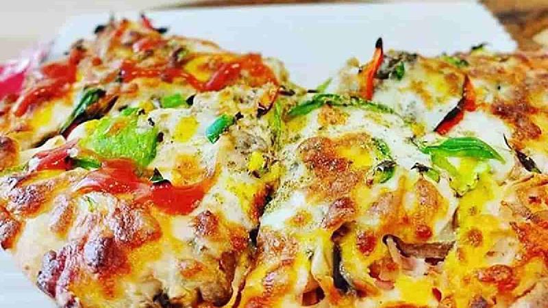 خمیر پیتزا ماهیتابه ای