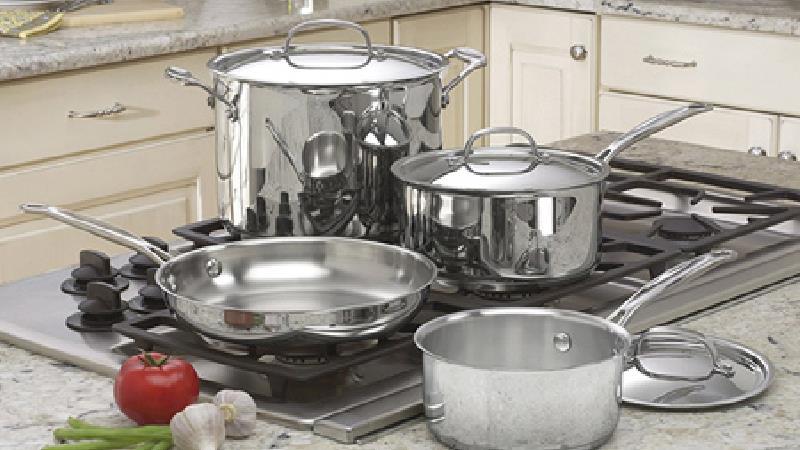 چطور ظرف استیل را تمیز کنیم