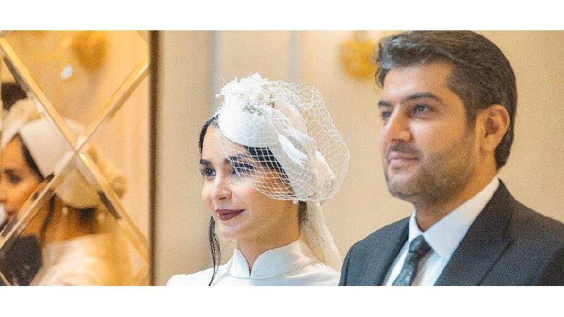 ازدواج مهدیه نساج و سامرند معروفی