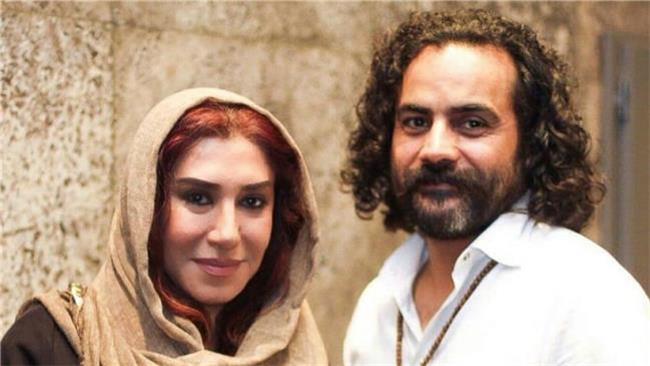 نسیم ادبی و همسرش