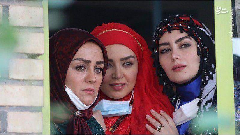 نسرین مرادی در سریال نون.خ