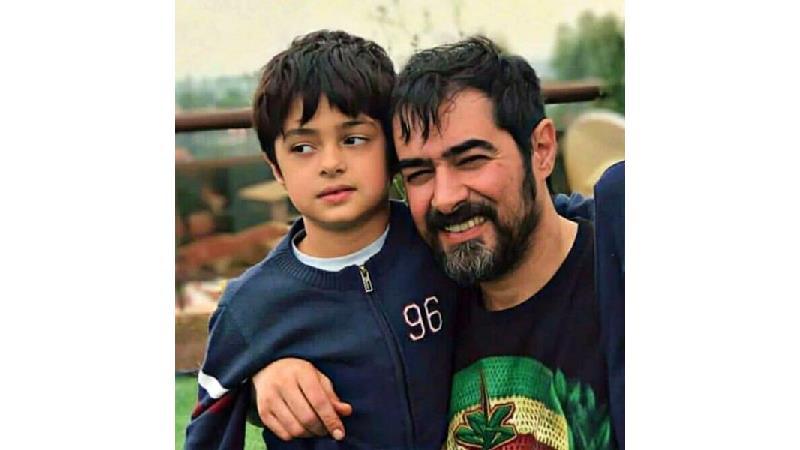 شهاب حسینی و پسرش امیرعلی
