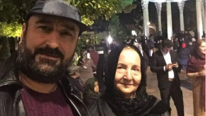 احمد مهرانفر و مادرش