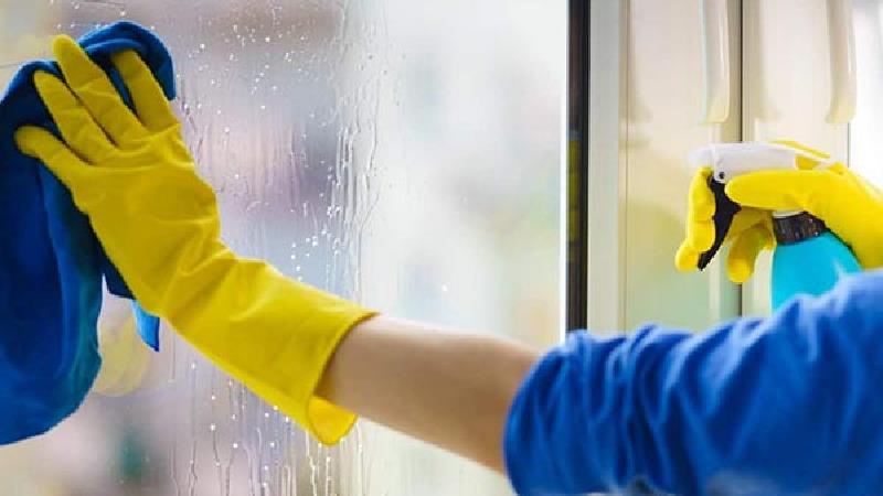 تمیز کردن پنجره با سرکه